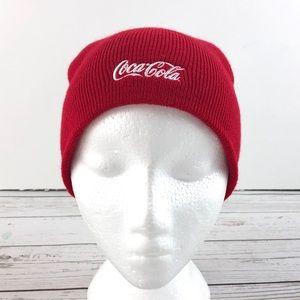 Coca-Cola red toque